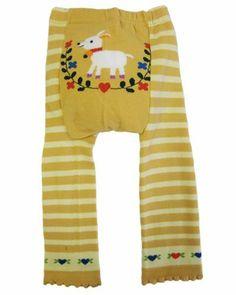 """Dotty Fish - Jambières en laine """"Cream Bambi"""" pour bébés et jeunes enfants Dotty Fish."""