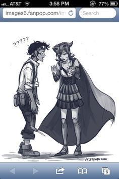 Festus as a girl. Perfect for Leo! Sooo cute
