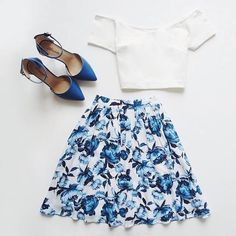"""""""Blue and White """""""