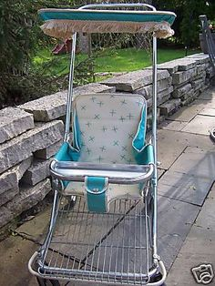 1960s baby stroller - mom had one of these