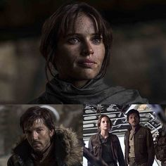 Stardust and Cassian - I like the way they looked at one another throughout the film. They expressed so much in just their looks. They had great exchanges, and shared some incredible emotional moments together which, in turn, made us emotionally invested in them. Amazing performances by Felicity and Diego!