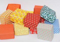 Gastgeschenke - Papierschachtel mit Stülpdeckel - ein Designerstück von Farbspuren.com bei DaWanda
