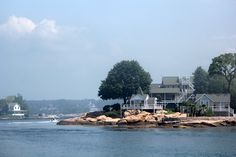 A private island in the Thimble Islands, CT