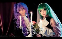 VOCALOID Gakupo and Gumi cosplay