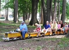Starr Park, Royal Oak. Train rides for kids on the 1st full week-  end of each mo. May thru Nov.  12pm to 4 pm, weather permitting.  For more information, visit:  www.greatlakeslivesteamers.org