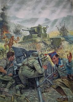 German involvement began days after fighting broke out in July Adolf… Soldier Drawing, Army Drawing, Military Art, Military History, Military Uniforms, Military Drawings, German Army, World War Ii, Art History