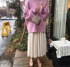 Discover recipes, home ideas, style inspiration and other ideas to try. Street Hijab Fashion, Muslim Fashion, Modest Fashion, Korean Fashion, Abaya Fashion, Mode Outfits, Chic Outfits, Fashion Outfits, Womens Fashion