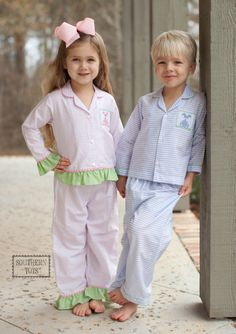 Southern Tots - Southern Tots Blue Bunny Smocked Loungewear, $29.99 (http://www.southerntots.com/southern-tots-blue-bunny-smocked-loungewear/)