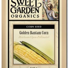 Golden Bantam Corn  from The Scribbled Hollow for $2.89 on Square Market