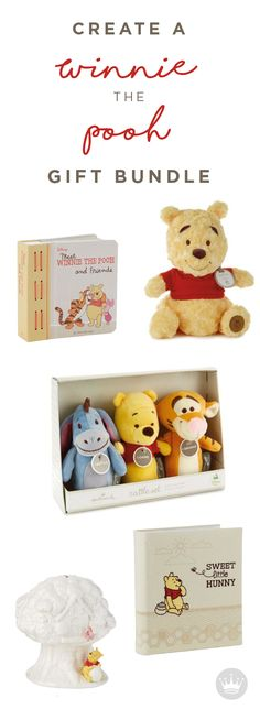 To celebrate their 50th Anniversary, Winnie the Pooh and Hallmark have teamed up to create a collection of baby shower gifts, perfect for the new mommy in your life. From adorable plush toys and bedtime stories, to keepsakes that will last a lifetime, this gift bundle has everything you need to celebrate a new baby!