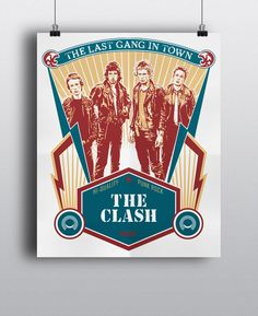 Personal project / Fan art*credit goes to original photographer for reference material The Clash, Punk Rock, Digital Art, Behance, Fan Art, Projects, Log Projects, Blue Prints