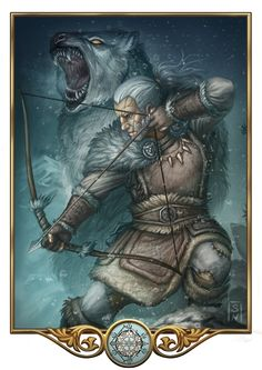 Firun by GaiasAngel (Firun - God of Wilderness, Winter and Survival. Is totally kicking some serious butts.)