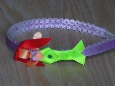 Handmade Hair Accessory Little Mermaid Headband Girls bows
