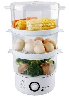 Ovente FS53W 0.76-Quart Electric Food Steamer, White #cooking #cookware #kitchen