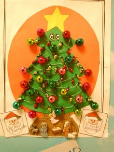 A Christmas Tree by Miss Annie