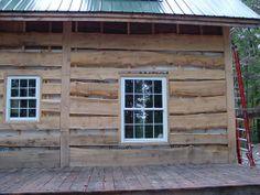 Rough Sawn Wood Siding Logs Reclaimed Wood Log