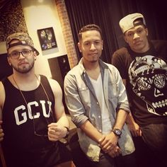 g-styles, trip lee & andy mineo working Christian Artist, Christian Life, Andy Mineo, Christian Rappers, Gangsta Quotes, Best Albums, Hip Hop Rap, Brownie Recipes, My Favorite Music