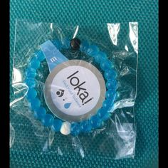 Blue Lokai bracelet in M Brand new Lokai Jewelry Bracelets