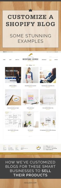 Often, when clients come to us for a custom website design, they are unsure about whether to include a blog directly on the Shopify platform, or to build it on another platform such as WordPress. For the great majority of our clients, we recommend using the Shopify blogging platform. A Shopify blog is simpler than a WordPress blog, but most shop owners don't need any bells and whistles.
