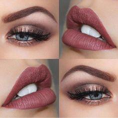 Amazing combo! @brookesimonsmua | #makeup Shop beauty at beautybridge.com #beautybridge #makeup #mua #nailpolish #lipstick #eyeshadow #beauty #bbBabe