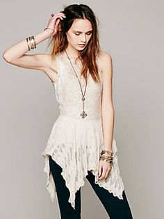 Free People FP X Back To Narnia Top, $98.00