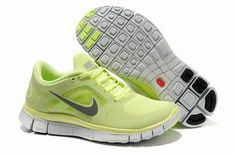 reputable site 5333b a1dff Nike Free Run 3 Fluorescent Green Womens UK Nike Women, Air Max 90, Nike