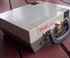 NES Lunchbox Power up your afternoon meals by encasing them inside a recycled NES lunchbox. This one of a kind lunchbox is made from a re-purposed original Nintendo console and features a high quality handle to accent the look. Your young gamer will be the envy of every kid at school. $199