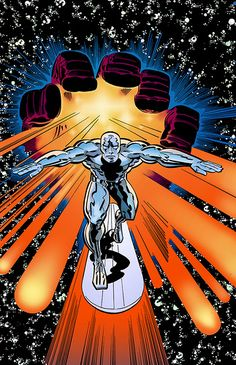 Cap'n's Comics: Some Silver Surfer by Jack Kirby Best Picture For Marvel Comics doctor strange For Your Taste You are Marvel Comics Superheroes, Marvel Comic Books, Marvel Art, Marvel Heroes, Comic Books Art, Dc Comics, Comic Book Artists, Comic Book Characters, Comic Artist