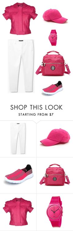 """""""Untitled #309"""" by stilvoll ❤ liked on Polyvore featuring RED Valentino and Swatch"""