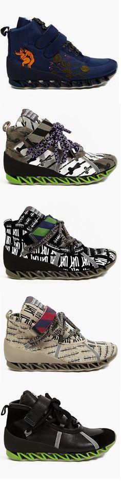 Bernhard Willhelm x Camper Himalaya Sneakers