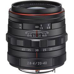 Pentax DA 20-40mm F2.8 - 4 LIMITED DC WR