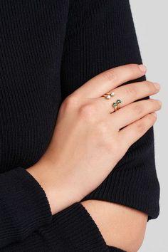 Delfina Delettrez - 9-karat Gold Topaz Ring