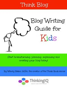 Get your tween to start their own blog to express their ideas.  Think Blog: Blog Writing Guide for Kids. Help your child or student start brainstorming, planning, organizing and creating your blog today!  Includes 18 writing worksheets for various types of articles
