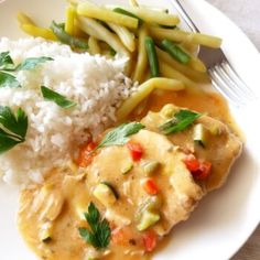 CIASTKA SEROWE Z 3 SKŁADNIKÓW – Zasmakuj Kuchni Thai Red Curry, Risotto, Mashed Potatoes, Dinner, Ethnic Recipes, Christmas, Diet, Recipies, Whipped Potatoes