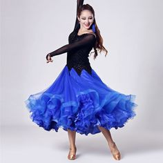 big swing Leopard splicing ballroom waltz dresses for ballroom dancing Standard Competition standard dance dress fringe flamenco Ballroom Dancing, Dance Dresses, Dance Wear, Competition, Ballet Skirt, Skirts, Model, How To Wear, Stage