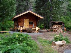 Upper Russian Lake Cabin by USFS Region 10