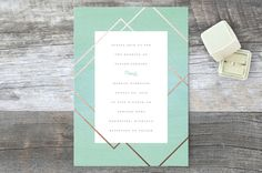 Watercolor Union by Genna Cowsert at minted.com