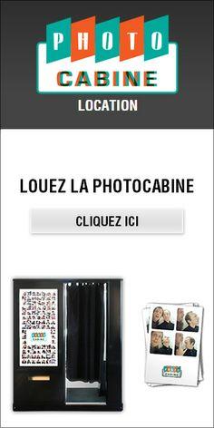 La Photocabine - Location (Tarif pour louer une cabine photo type Photomaton®, photobooth moderne ou vintage, pour vos evenements pro ou mariages d'exception)