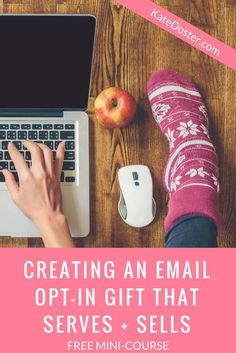 Growing your email newsletter list is tough. But what's worst is building an email list fill of people who will never invest in your online courses, coaching or affilate offers. Use this free mini-course to craft the perfect opt-in freebie that attracts buyers. Click now or save it to your favorite group board.