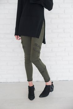 Granite Green Jeans