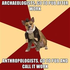Finally a clear distinction between archaeologists and anthropologists! Check out the Archaeology Channel Cartoons of the Week on our Facebook page to get some more archaeology fun and humor: http://www.facebook.com/pages/The-Archaeology-Channel/33355754452?ref=ts=ts