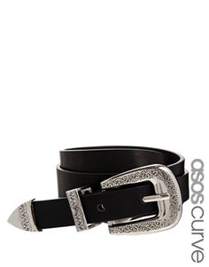 Enlarge ASOS CURVE Western Tip Waist Belt