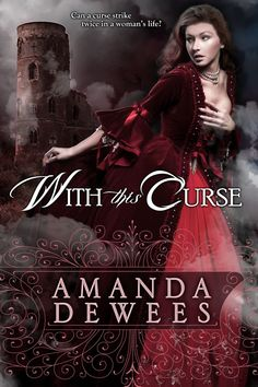The original cover for With This Curse, by the Killion Group, shows the Gravesend folly in the background. Great Books, My Books, Book Review Blogs, I Love Reading, Women Life, Romance Books, Amanda, Novels, Romantic