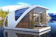 Floatel: Modular Floating Hotel Rooms Provide Portable Privacy