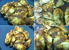 Receta casera de alitas de pollo al horno con mojo picón #alitasdepollo #recetasdepollo #recetasfaciles #recetascaseras