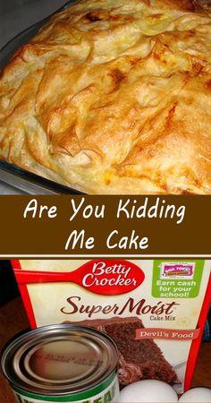 Are You Kidding Me Cake 13 Desserts, Cake Mix Desserts, Delicious Desserts, Trifle Desserts, Plated Desserts, Pavlova, Food Cakes, Cupcake Cakes, Cupcakes