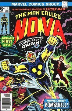 The Man Called Nova #1 first appearance of Nova.