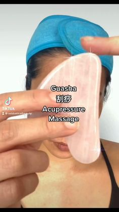 Acupressure Massage, Acupressure Therapy, Beauty Care, Beauty Skin, Hair And Skin Vitamins, Skin To Skin, Face Massage, Skin Care Tools, Face Skin Care