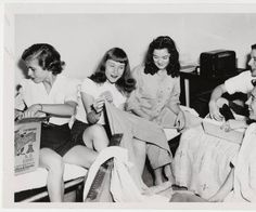 Five students from the Class of 1948 in a dormitory room :: Archives and Special Collections Digital Images Dormitory Room, In High School, Digital Image, Teenagers, 1920s, Archive, Students, Collections, Big