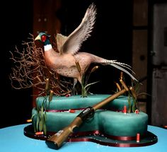 Hows this for a cake to give to celebrate that special ocassion - this is an Elizabeth Hodes Custom Cake Sugar piece - awesome